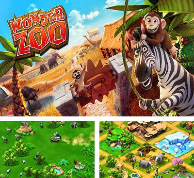 In addition to the game Jurassic Park Builder for Android phones and tablets, you can also download Wonder Zoo - Animal rescue! for free.