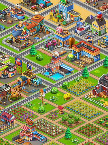 Farm fantasy: Happy magic day in wizard Harry town скриншот 2