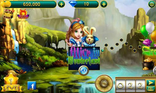 Screenshots von Wonderland slots für Android-Tablet, Smartphone.