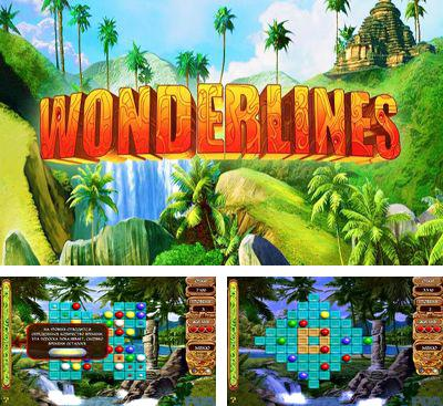 In addition to the game Draw Slasher for Android phones and tablets, you can also download Wonderlines match-3 puzzle for free.