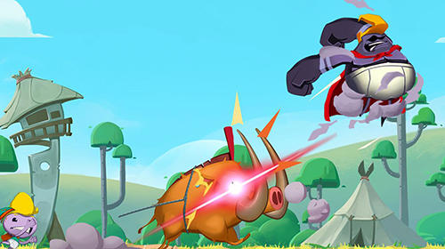 Screenshots von Wonderpants: Rocky rumble für Android-Tablet, Smartphone.