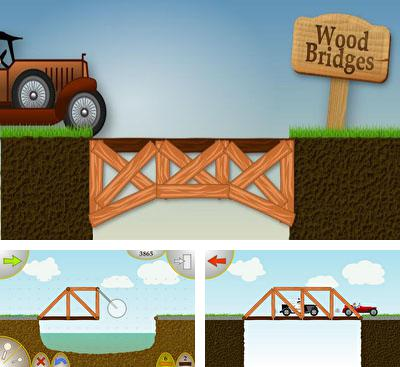 In addition to the game Bridge Architect for Android phones and tablets, you can also download Wood Bridges for free.