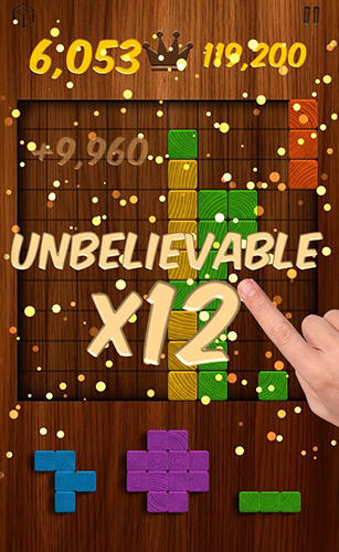 Woodblox puzzle: Wood block wooden puzzle game картинка из игры 3