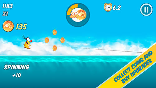 Screenshots von Woody: Endless summer für Android-Tablet, Smartphone.