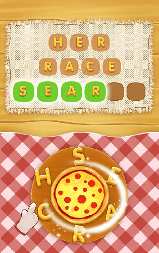 Word pizza screenshot 2