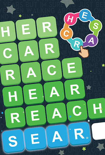 Screenshots von Word search: Unscramble words für Android-Tablet, Smartphone.
