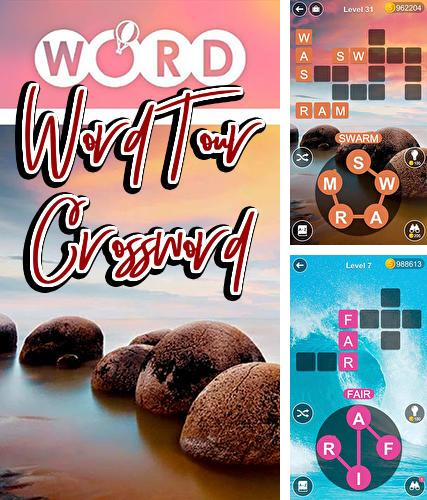 Word tour: Cross and stack word search