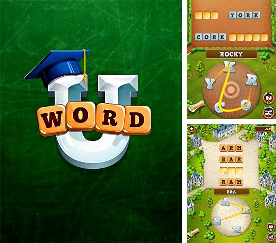 In addition to the game Saiyan marvels for Android phones and tablets, you can also download Word U for free.