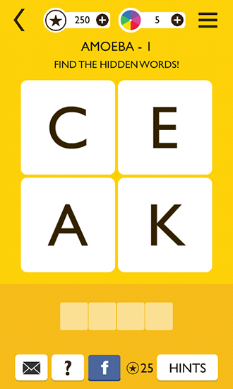Word way: Brain letters game screenshot 3