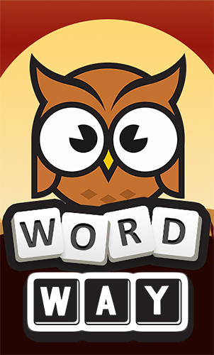 Word way: Brain letters game poster