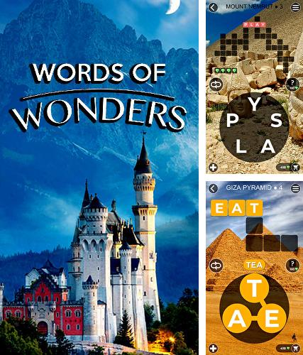 Words of wonders: Crossword to connect vocabulary