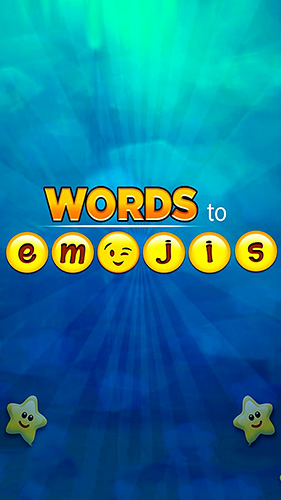 Words to emojis: Fun emoji guessing quiz game обложка