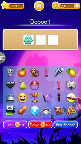 Words to emojis: Fun emoji guessing quiz game картинка из игры 3