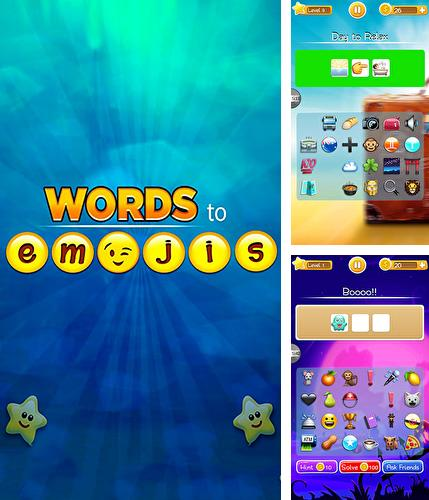 Zusätzlich zum Spiel Unfallsaison für Android-Telefone und Tablets können Sie auch kostenlos Words to emojis: Fun emoji guessing quiz game, Words to Emojis: Lustiges Emoji Ratespiel herunterladen.