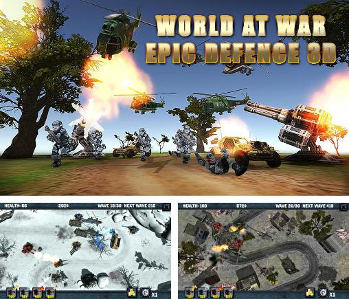 World at war: Epic defence 3D