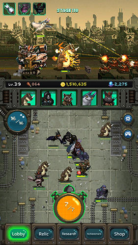 World beast war: Destroy the world in an idle RPG screenshot 1
