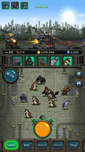 World beast war: Destroy the world in an idle RPG screenshot 2