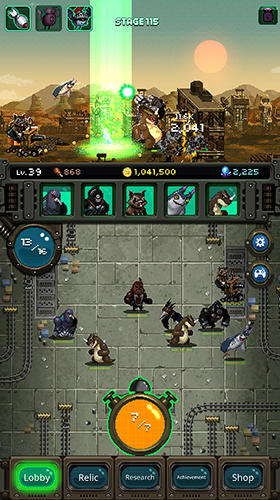 World beast war: Destroy the world in an idle RPG screenshot 3