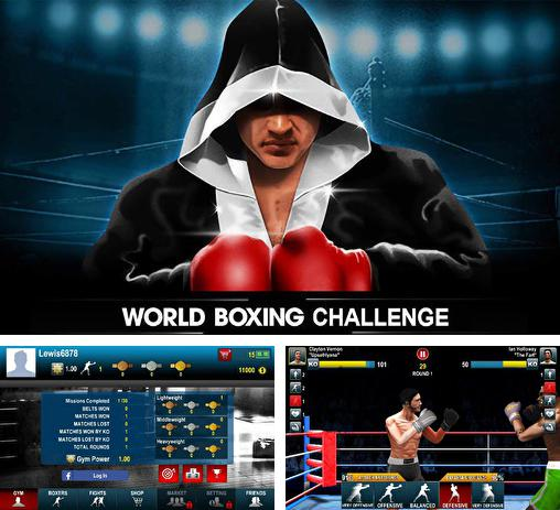 In addition to the game Real Boxing for Android phones and tablets, you can also download World boxing challenge for free.