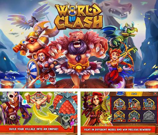 Zusätzlich zum Spiel Stahlanbruch für Android-Telefone und Tablets können Sie auch kostenlos World clash: Hero clan battle, World Clash: Heldenclan Kampf herunterladen.