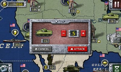 Screenshots of the World Conqueror 1945 for Android tablet, phone.