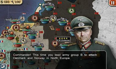 Screenshots von World Conqueror 2 für Android-Tablet, Smartphone.