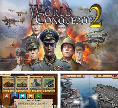 In addition to the game Strategy and tactics World War 2 for Android phones and tablets, you can also download World Conqueror 2 for free.