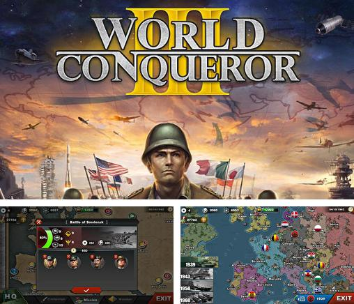 In addition to the game Strategy and tactics World War 2 for Android phones and tablets, you can also download World conqueror 3 for free.