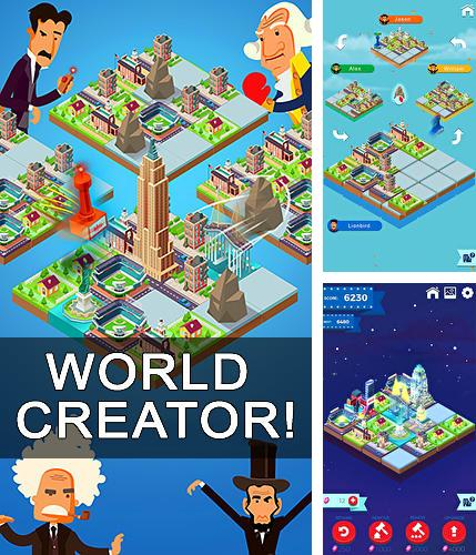 World creator! 2048 puzzle and battle