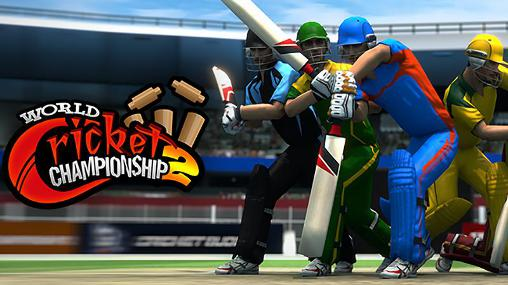 World cricket championship 2 обложка