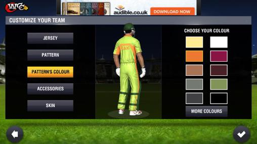 Гра World cricket championship 2 на Android - повна версія.