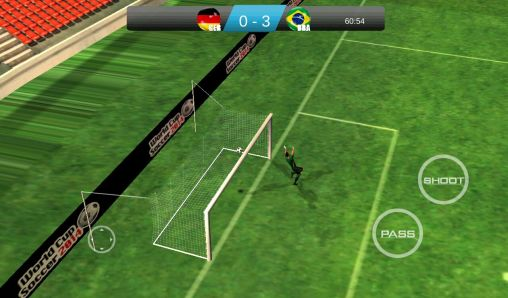 Screenshots von World cup soccer 2014 für Android-Tablet, Smartphone.