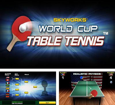 In addition to the game Paper Glider vs. Gnomes for Android phones and tablets, you can also download World Cup Table Tennis for free.