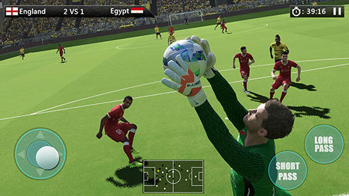 Screenshots von World football: Golden league cup für Android-Tablet, Smartphone.