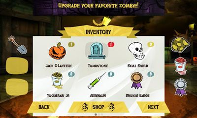 Screenshots of the World League Zombies Run for Android tablet, phone.