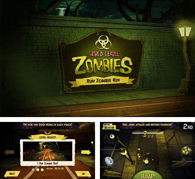 En plus du jeu Casse-le pour téléphones et tablettes Android, vous pouvez aussi télécharger gratuitement Le Championnat du Monde de Course avec les Zombies, World League Zombies Run.