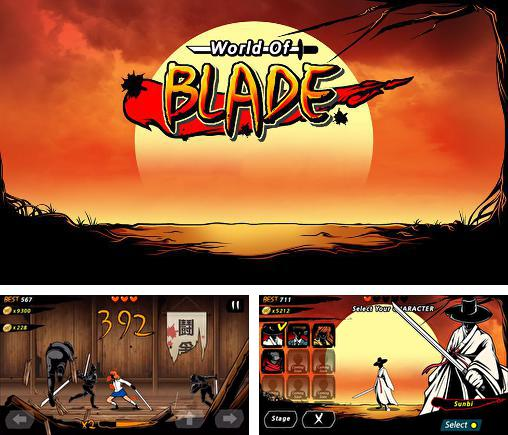 In addition to the game The Samurai for Android phones and tablets, you can also download World of blade for free.