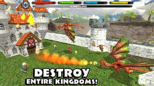 Juega a World of dragons: Simulator para Android. Descarga gratuita del juego Planeta de dragones: Simulador.