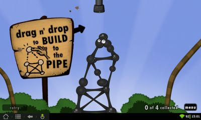 Screenshots do World Of Goo - Perigoso para tablet e celular Android.