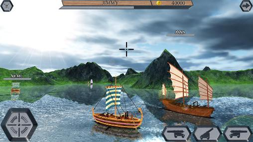 Screenshots von World of pirate ships für Android-Tablet, Smartphone.