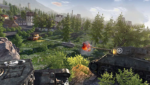 Kostenloses Android-Game Cworld of Steel: Panzerkraft. Vollversion der Android-apk-App Hirschjäger: Die World of steel: Tank force für Tablets und Telefone.
