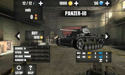 World Of Tank War screenshot 1