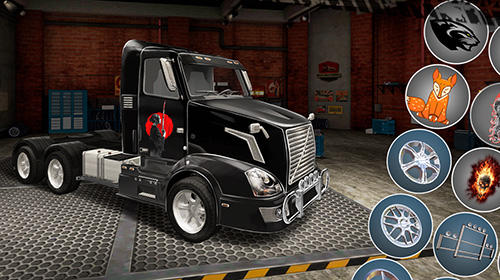 Capturas de pantalla de World of truck: Build your own cargo empire para tabletas y teléfonos Android.