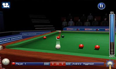 Screenshots do World Snooker Championship - Perigoso para tablet e celular Android.
