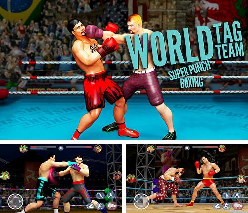 En plus du jeu Grande jeu de combat pour téléphones et tablettes Android, vous pouvez aussi télécharger gratuitement Equipe en couple: Boxe mondiale super dynamique. Champion vedette 3D, World tag team super punch boxing star champion 3D.