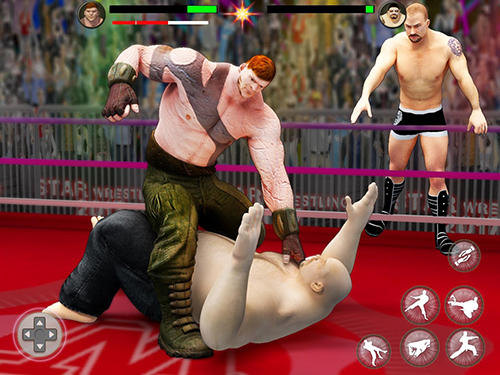 Гра World tag team wrestling revolution championship на Android - повна версія.