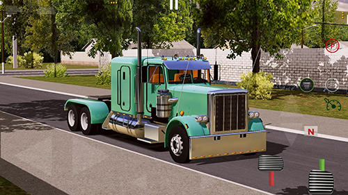 Screenshots do World truck driving simulator - Perigoso para tablet e celular Android.