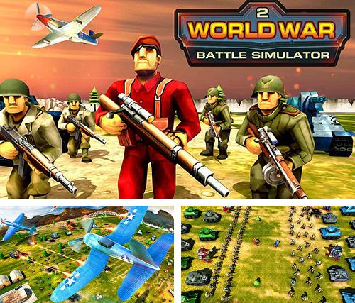 World war 2 battle simulator: WW 2 epic battle