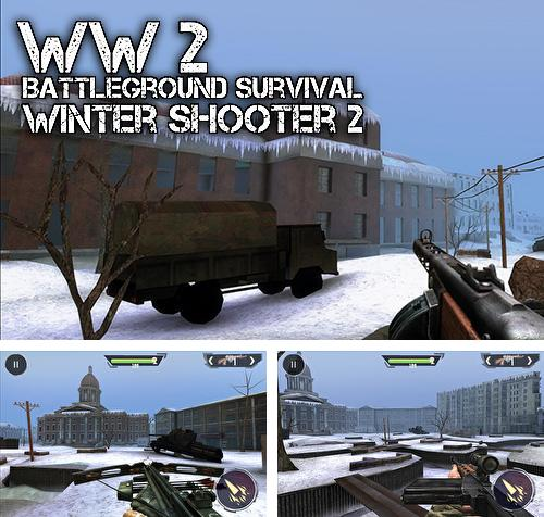 World war 2: Battleground survival winter shooter 2