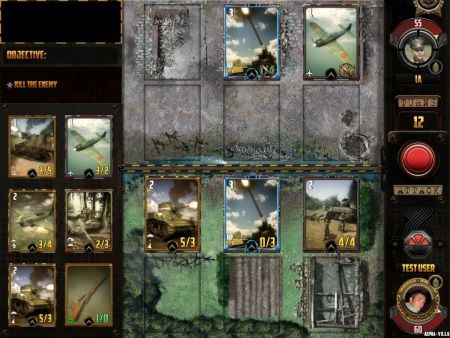 Screenshots von World war 2: TCG für Android-Tablet, Smartphone.